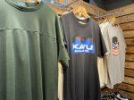 【KAVU】暑い夏に着たい!ロゴが特徴的なKAVU(カブー)のTシャツをご紹介!!(シンプルなTシャツもあります!)