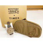 【MYSTERY RANCH】×【TIMEX】コラボ時計!ミステリーランチ&タイメックス好き必見のフィールドウォッチ!!
